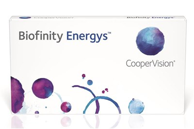 coopervision launches biofinity energys daily soft contact. Black Bedroom Furniture Sets. Home Design Ideas
