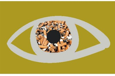 Anti-smoking publicity material from the campaign