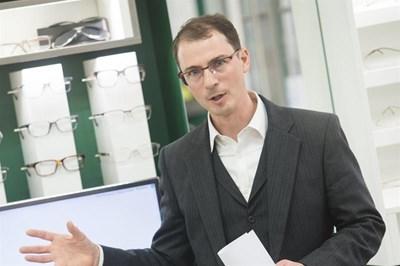 Dr Martin Smith of Martin Smith Opticians
