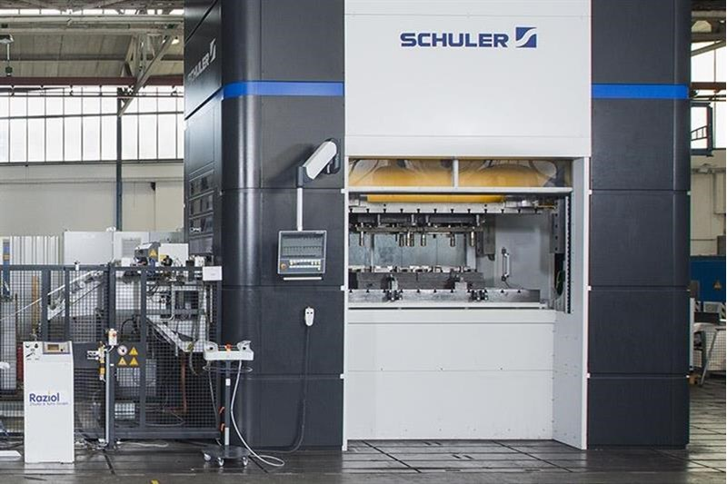 Schuler Msp 400 Offers Cost Effective Stamping Press Solution