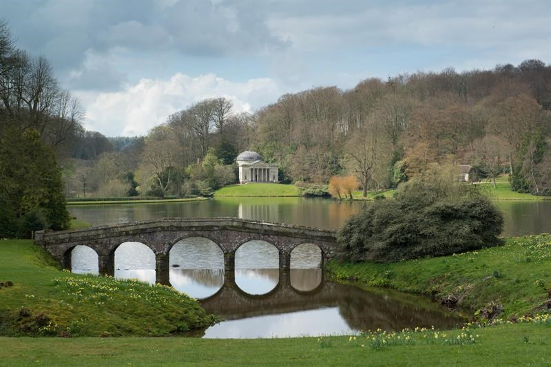 Stourhead's gardens the vision of Henry Hoare II