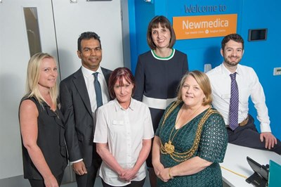 The Newmedica team in Leeds