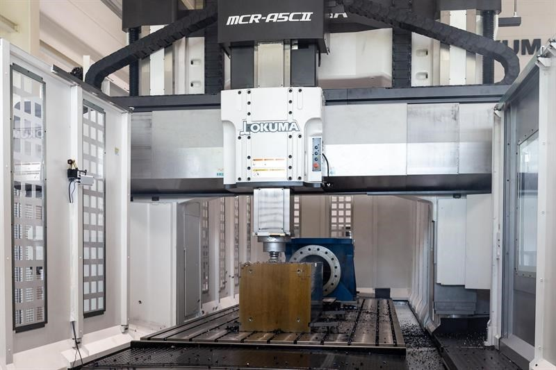 Okuma additive manufacturing for large machines