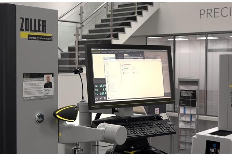 Zoller's smartCheck machine