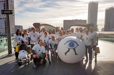 Scope Ophthalmics raises money for RNIB