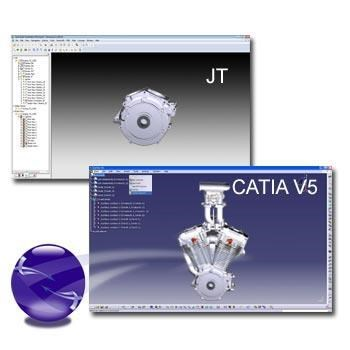 CATIA V5 transparency replicated in JT output