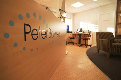 Peter Bowers Optometrist on Stone's High Street