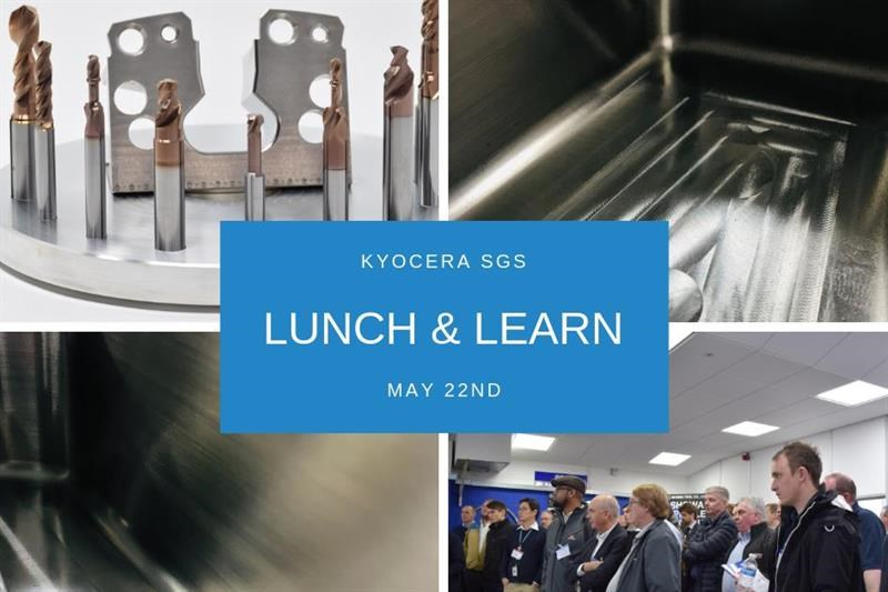 Lunch & Learn takes place on 22 May