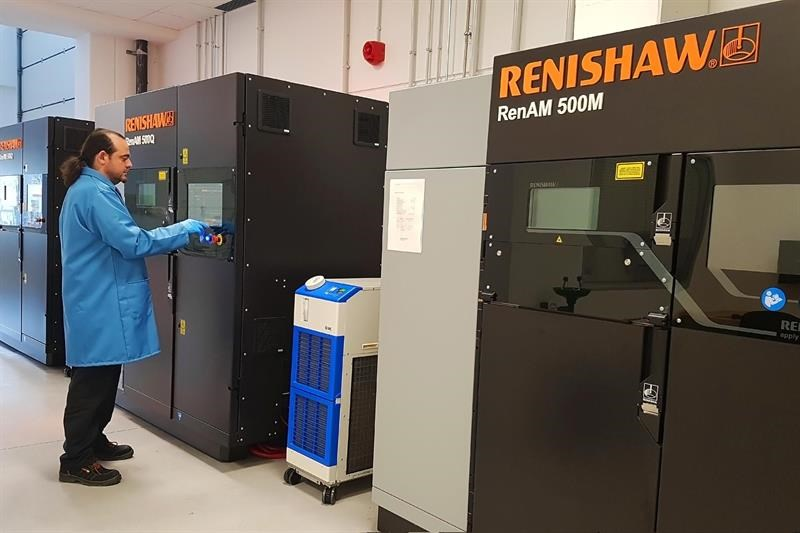 Renishaw has a global network of solutions centres