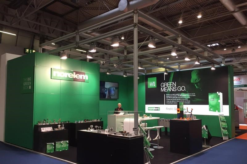 The Norelem stand at MACH 2018