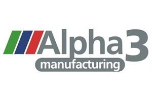Alpha 3 Manufacturing Logo