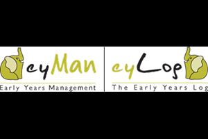 eyLog - Early Years Log / eyMan - Early Years Management Logo