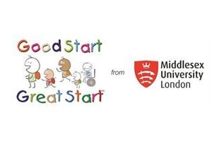Good Start Great Start from Middlesex University  Logo