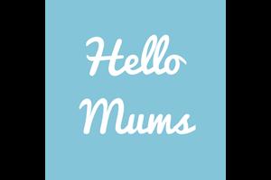 Hello Mums Logo