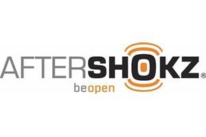 AfterShokz bone conduction headphones Logo