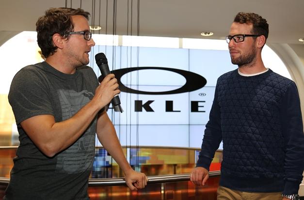 4ac4d072f2 Immon Paulsen Oakley Optics brand manager speaks to Mark Cavendish
