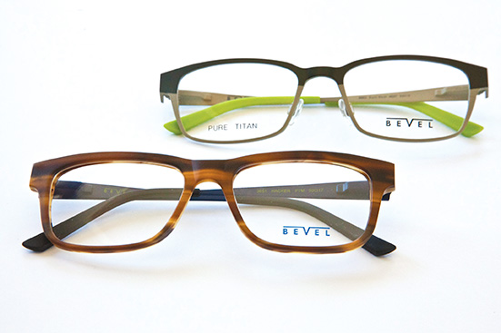 Bevel splashes the colours - Optician