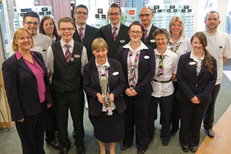 Specsavers staff dressed to impress optician - Specsavers head office contact number ...