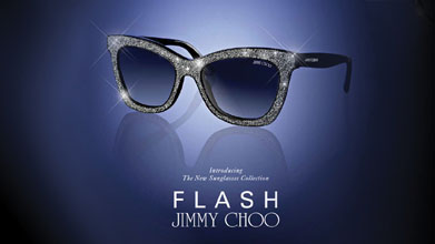 68ce7bf8e6ef Flash of cystals from Jimmy Choo - Optician