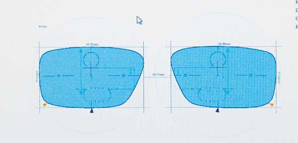 Figure 10: A short corridor PPL as shown using the Hoya ilog