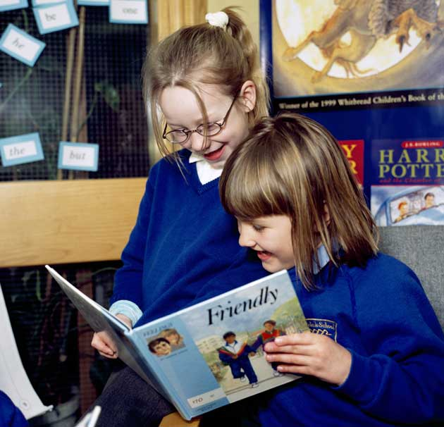 Wearing spectacles offers the clear vision to lead a healthy lifestyle – both in the classroom and outdoors
