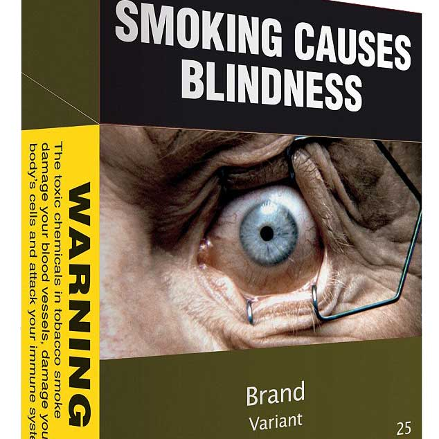 Blindness Threat Proves Effective Smoking Deterrent Optician