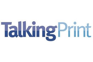 Talking Print Logo