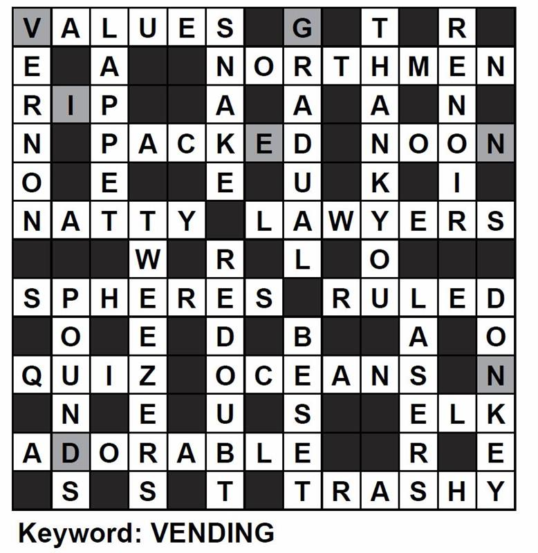 Manufacturing Management - June 2018: Crossword Answers