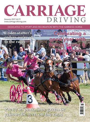 Celebreating a good year with British Scurry & Trials Driving