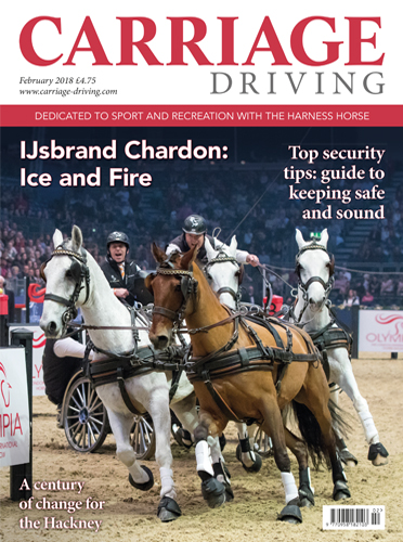 February 2018 Issue - Ijsbrand Chardon: Ice and Fire