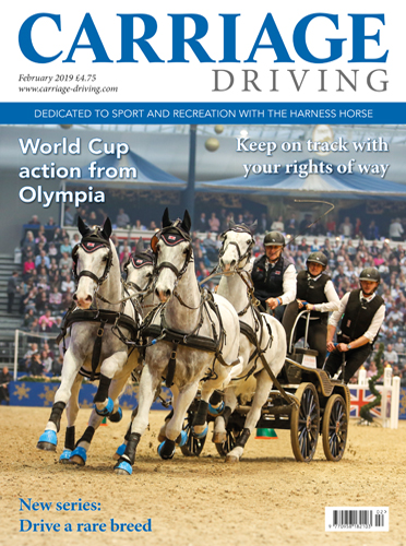February 2019 Issue - World Cup action from Olympia