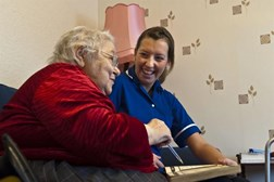 Nurses can provide more care in the home