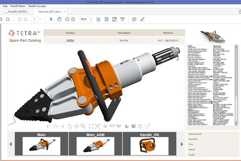 Create interactive 3D PDFs with no prior programming knowledge