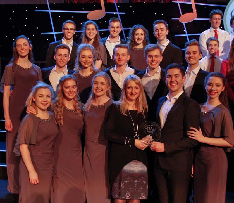 First time lucky for winning choir