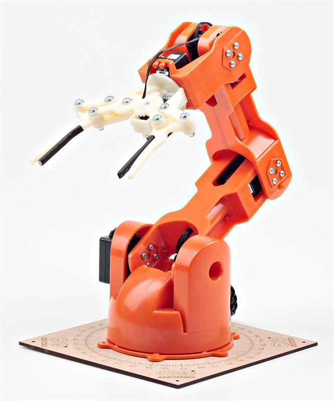 Tinkerkit Braccio Brings Affordable Robotics To Arduino