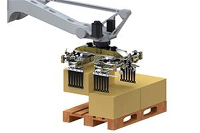 Lightweight Gripper Enables High Throughput During Palletizing