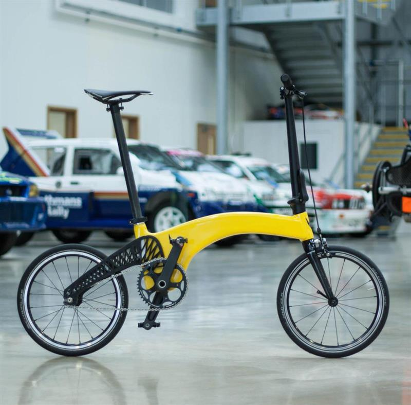 Prodrive produces the lightest folding bike in the world