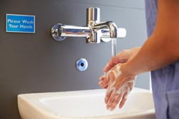 Hand washing is crucial in healthcare