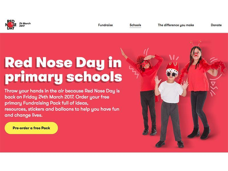 Red nose day fundraising pack