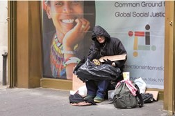 Homeless people often have a dual diagnosis