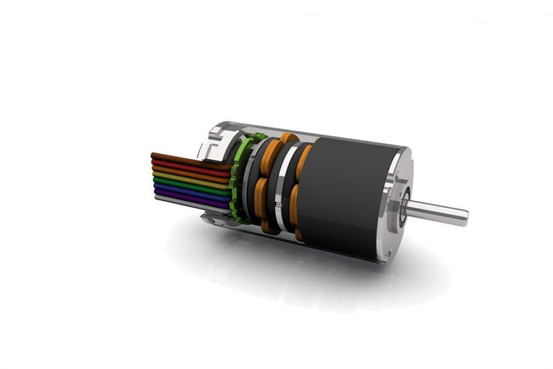 Ultra-compact brushless DC motor now with gearboxes and integrated