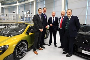 McLaren composites partnership