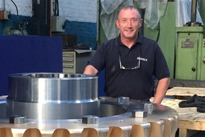 Renold Gears large worm gear