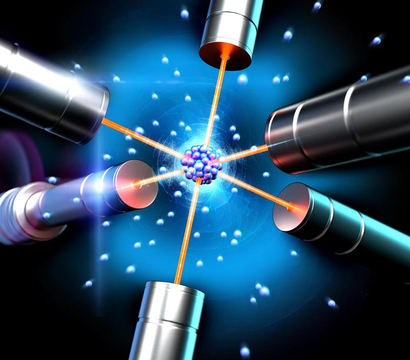 cooling atoms to almost absolute zero