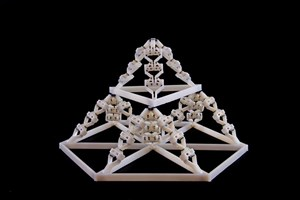Deformation of the 4D printed load structures