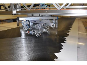 Automated Tape Laying machines boost properties