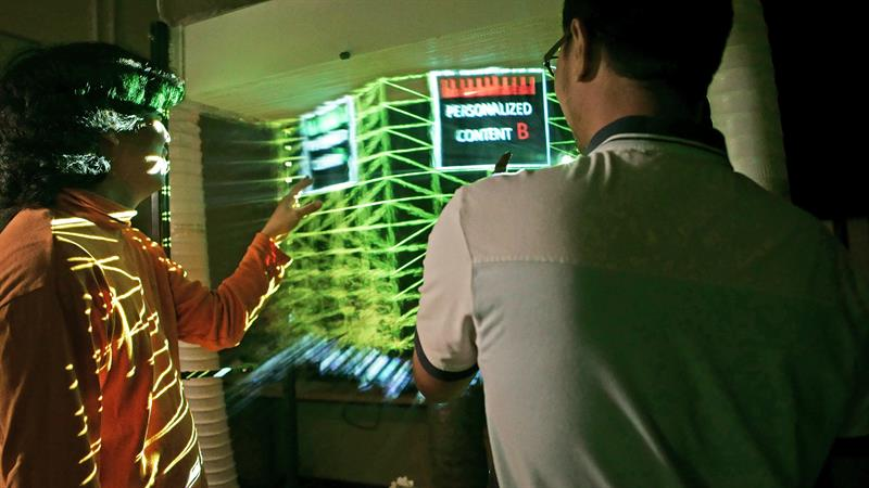 Sussex researchers develop a system that is more interactive and easier on the eye than VR