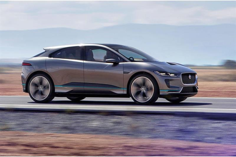 Jaguar to Offer Electrified Powertrains on All Models From 2020