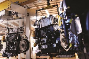 Engine component machining investment at JCB