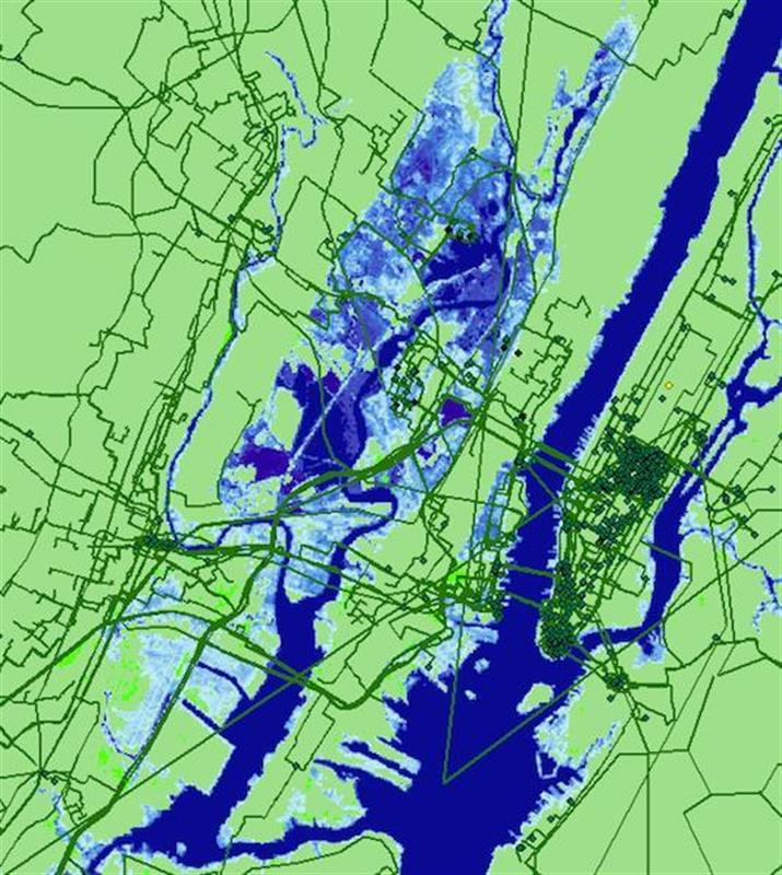 The sea level rise will leave the world without the Internet